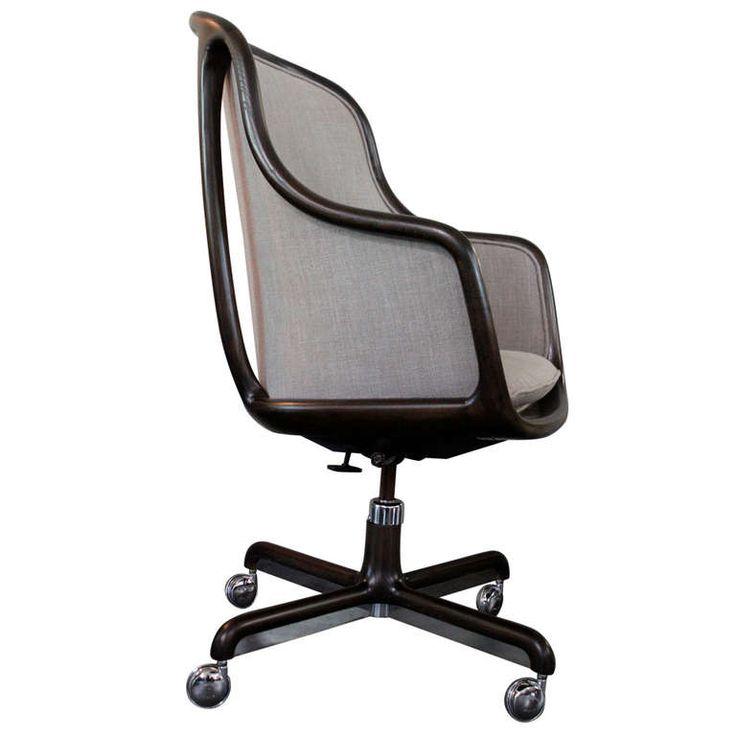 Sculptural Desk Chair By Ward Bennett Desks Office Desks And