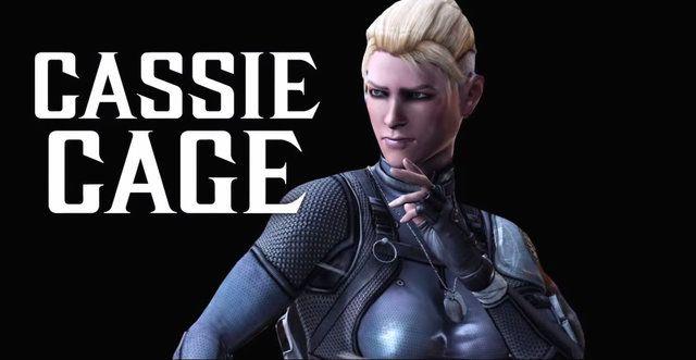 Cassie Cage   Cassie Cage bude mať v sérii premiéru