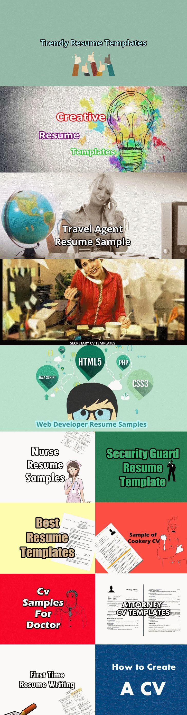 Resume templates free resume templates resume examples