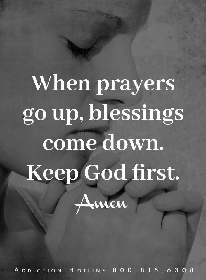 47+ When prayers go up blessings come down ideas