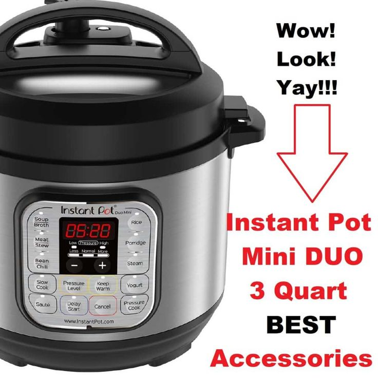 Do You Want The Best Instant Pot Duo Mini 3 Quart Accessories For Your Pressure Cooker All Thes