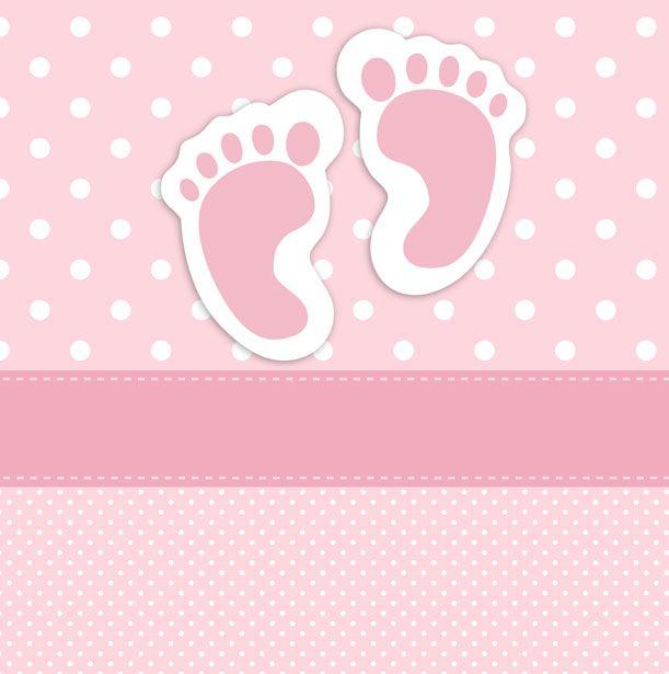 Huellas del bebé tarjeta Stock de Foto gratis - Public Domain Pictures