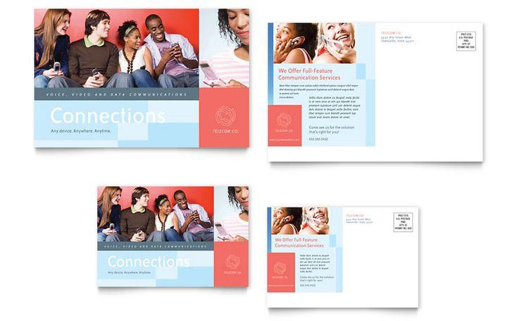 marketing agency postcard design ideas design inspiration pinterest