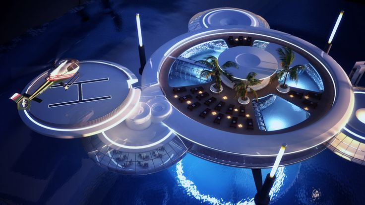 Going above and beyond all standards   Water Discus Hotels comprise two discs - an underwater and above-water one. This combination will allow guests to admire the depths of the ocean while making the most of the warm climate.