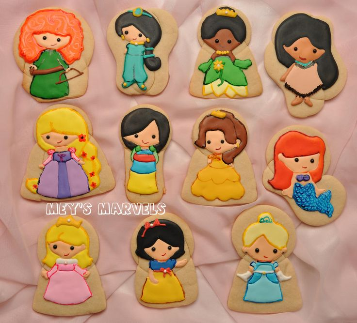 Disney Princesses | Cookie Connection