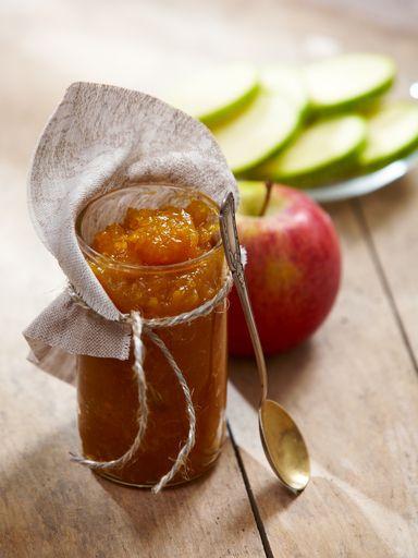 Recette de Confiture de pommes au caramel