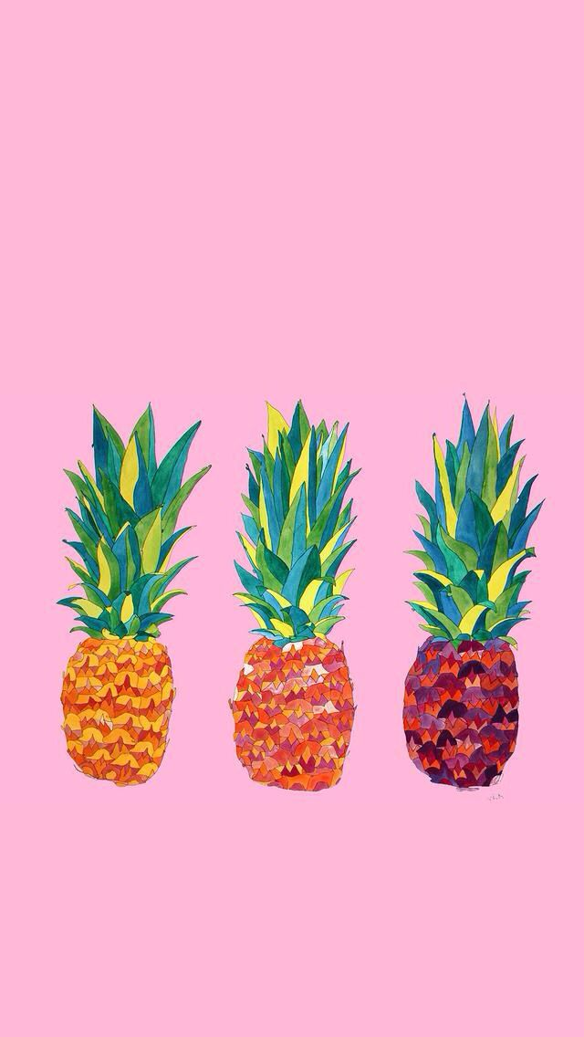iphone wallpaper pineapple wallpaper pinterest