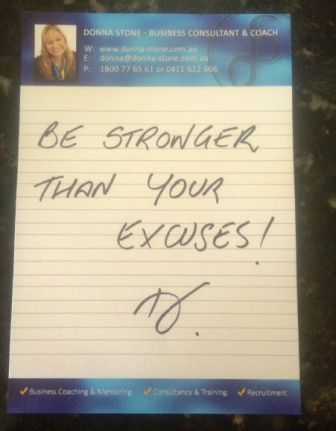 Donna Stone BusinessCoaching  #DSNotes