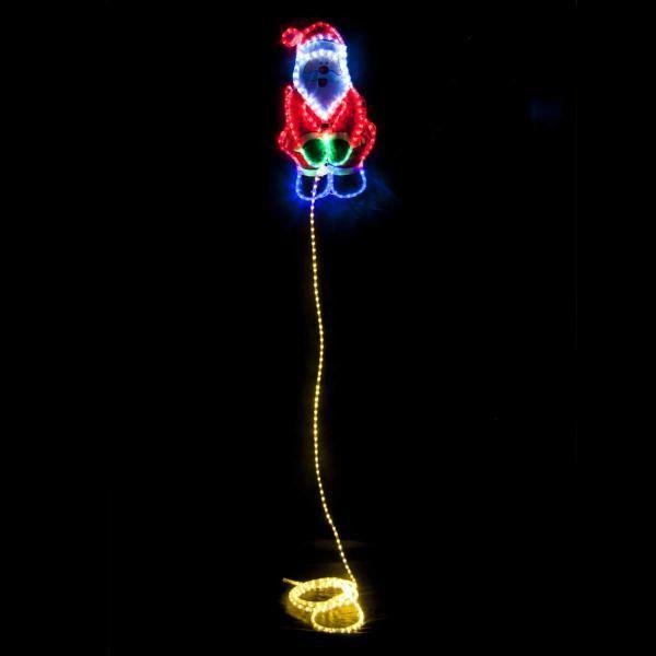 456 Best Christmas Lights Images On Pinterest: Christmas LED Ropelight Weeing Santa 5m