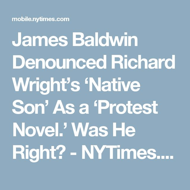 sympathy in wrights native son Native son study guide contains a biography of richard wright, literature essays   he reminds the court that sympathy belongs with the young,.