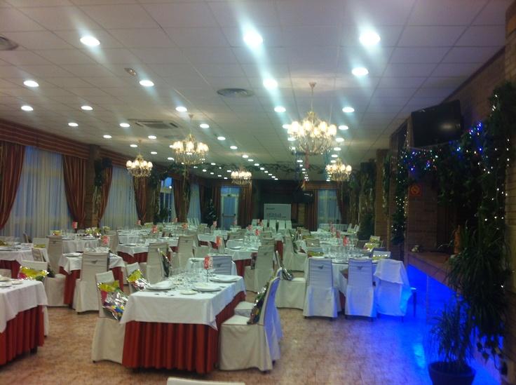 Salon- Gala de fin de Año Hotel el Aguila