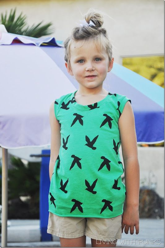 Muscle Tee - Free Pattern and Tutorial