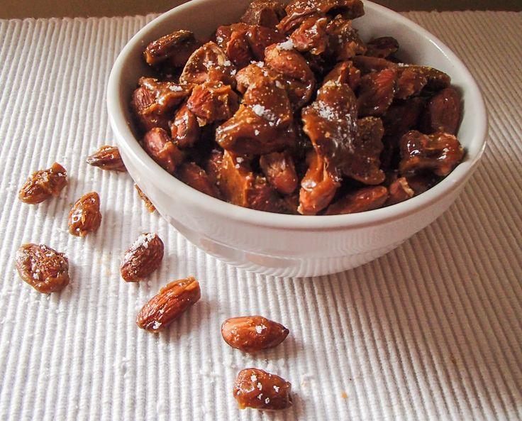 Sea Salt Caramel Almonds.