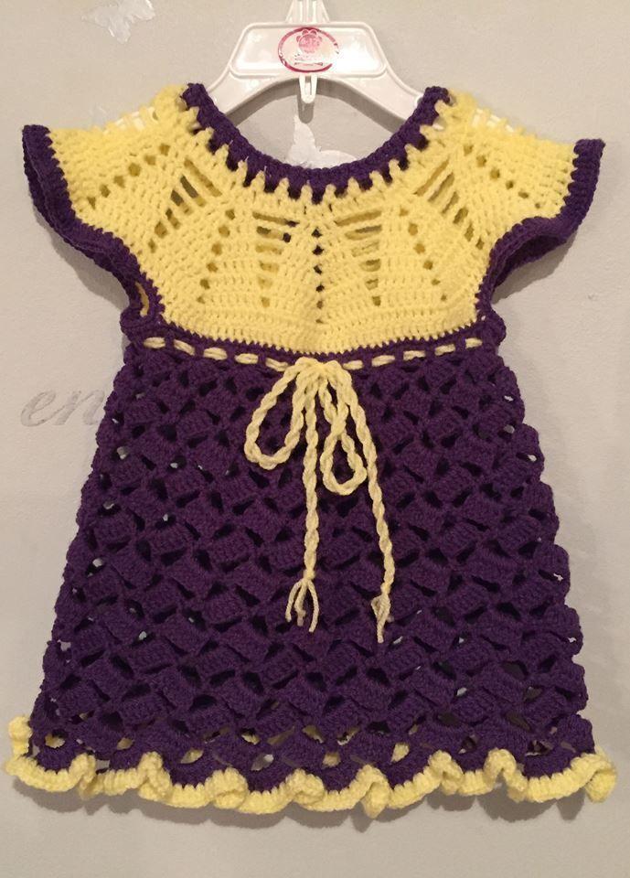 Virkattu mekko - BiBa