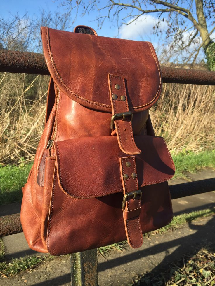 Backpack by MAHI Leather - the perfect companion for exploring.