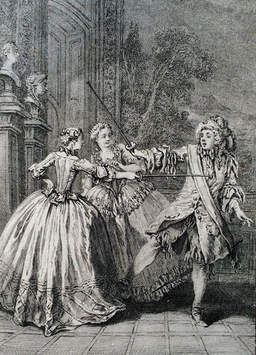 Boucher, François (b,1703)- Molière's 'Le Bourgeois Gentilhomme' (engraved- Laurent Cars)