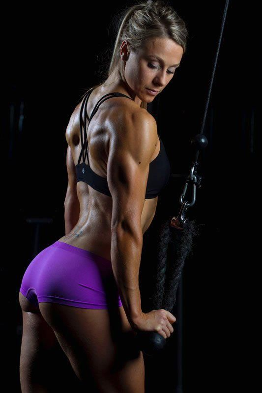 My goal for the entire backside! Great arms and back!!