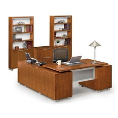 National Business Furniture - Shop The Look - Santa Clara Corner Office Group with Arris Chair