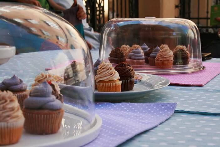 A nice outdoor cupcake sale can bring the entire neighborhood together.