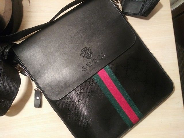 Gucci messenger Bag Black side bag  fashion  clothing  shoes  accessories   mensaccessories  bags (ebay link) 4ea53b679c022