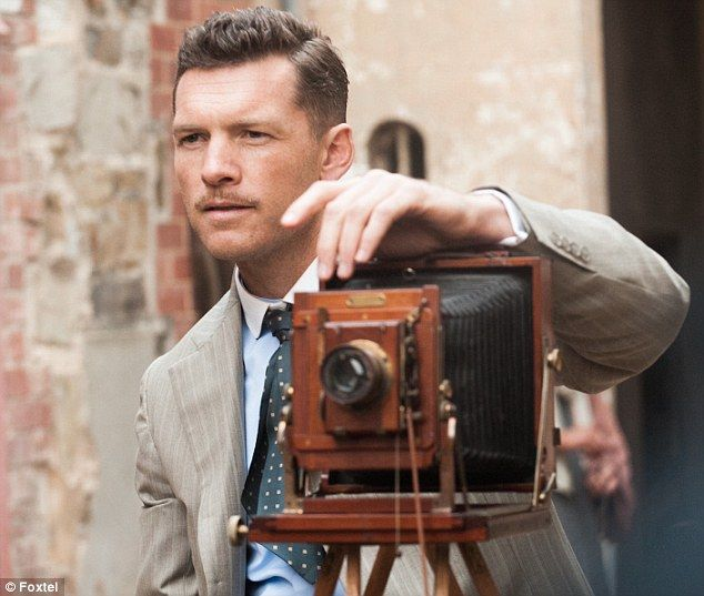 Sam Worthington channels the early 1900s gentleman in the first shots from mini-series Deadline Gallipoli...2015