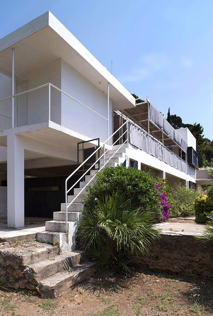 À Roquebrune-Cap-Martin, la villa E-1027 de l'architecte-designer Eileen Gray rouvre ses portes au public jusqu'au 31 octobre, après une longue restauration initiée en 2007. © Tim Benton