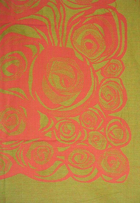 Vintage Tampella fabric Primavera, design Marjatta Metsovaara, 1968–1973.