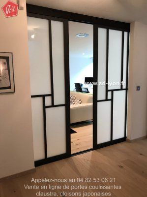Best PORTES COULISSANTE Images On Pinterest Sliding Doors - Porte placard coulissante avec serrurier paris 6
