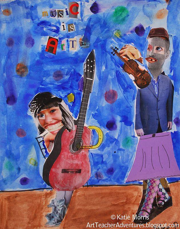 Adventures of an Art Teacher: Romare Bearden Inspired Artwork- 5th Grade