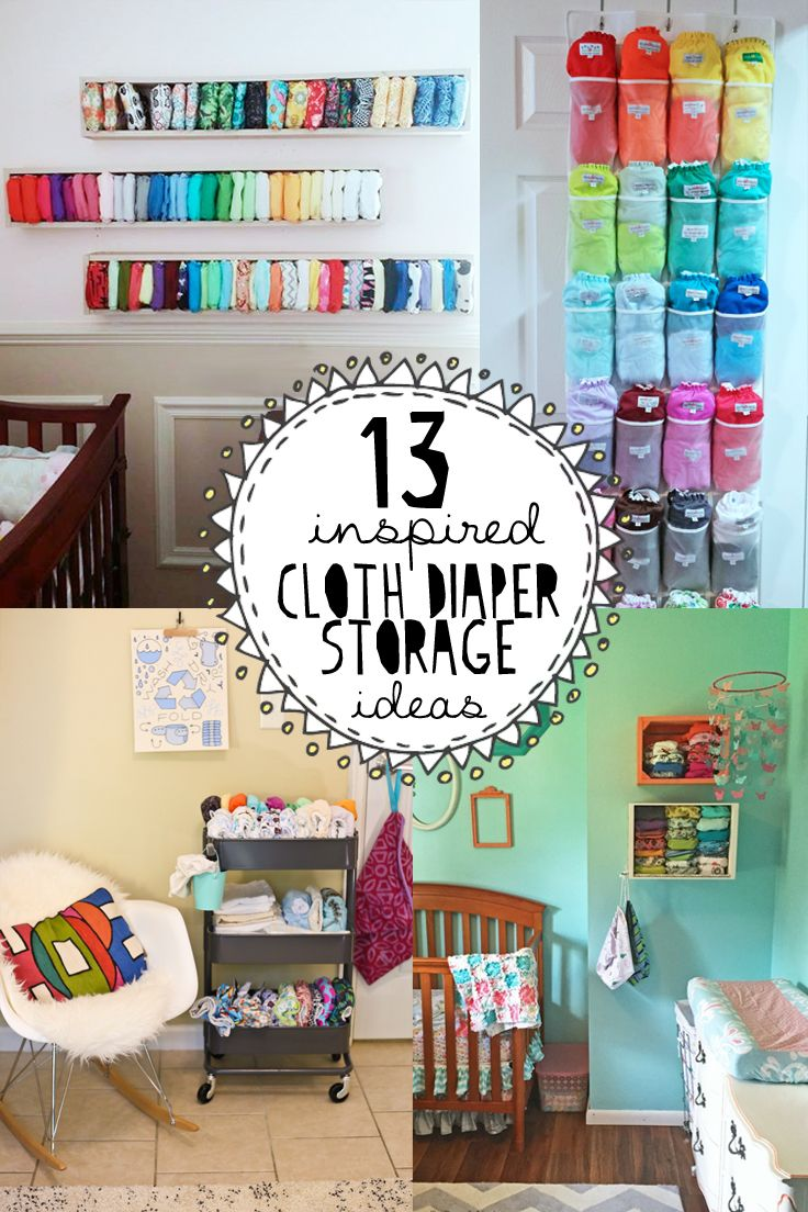 13 Inspired Cloth Diaper Storage Ideas | Dirty Diaper Laundry