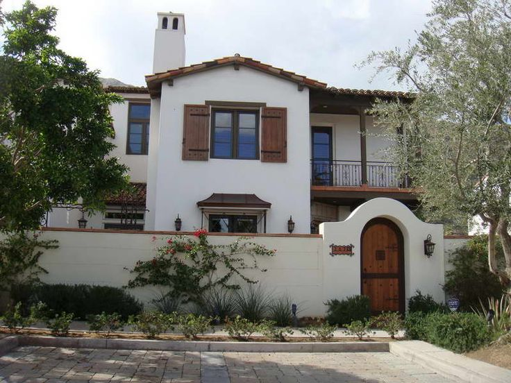 17 best images about house paint on pinterest spanish for Santa fe style home designs