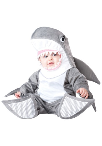 Infant Silly Shark costume #Halloween #Baby