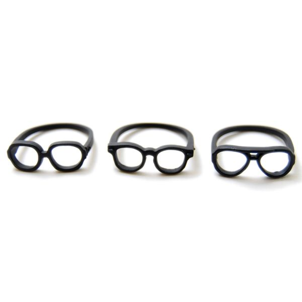 arenot|Lilou(リル)MEGANE RING wellington #17 mat black