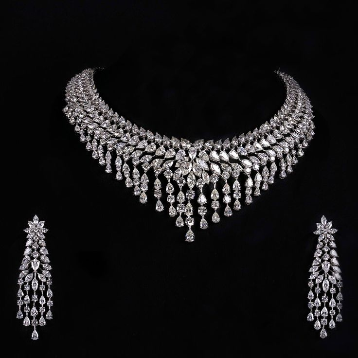 This collection contains some of most beautiful diamond jewelry sets and diamond jewelry set designs in it. Description from newfashioncorner.net. I searched for this on bing.com/images