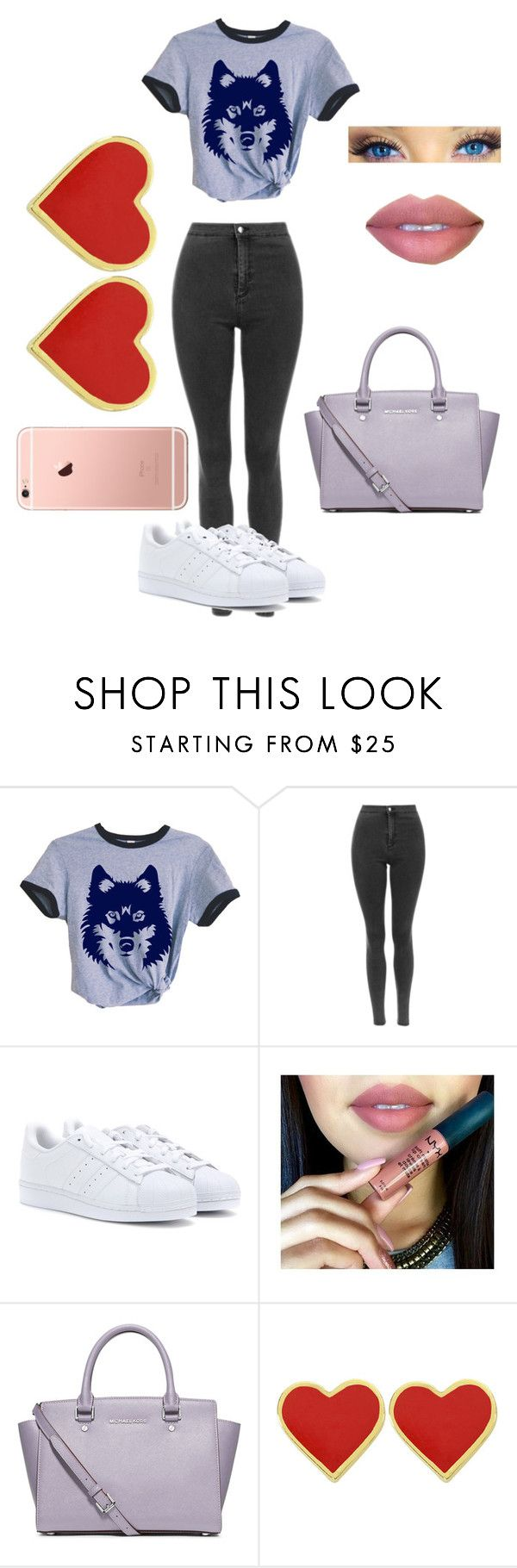 """carmen"" by lauraederveen on Polyvore featuring adidas and MICHAEL Michael Kors"