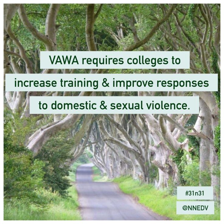 28. #VAWA 2013 requires colleges and universities to develop plans to prevent dating violence and sexual assault, intervene appropriately when incidents occur, and increase training and education about survivors' rights, bystander intervention, & more. #31n31 #DVAM #itsonus