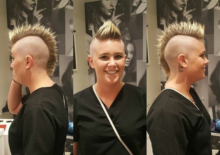 27++ Mohawk hairstyles with shaved sides ideas in 2021