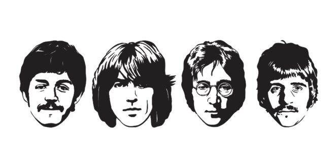 Beatles Dxf Svg Vectors Silhouette The Beatles Vector Vector Art