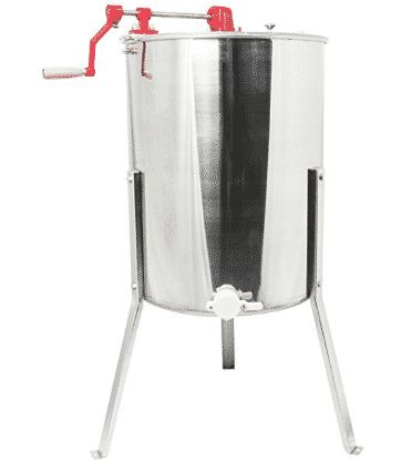 Stunning VIVO Four to Eight Frame Stainless Steel Bee Honey Extractor