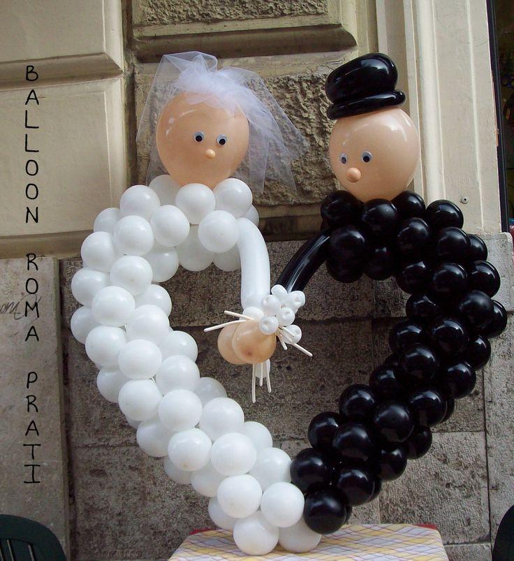 Wedding Heart newlyweds