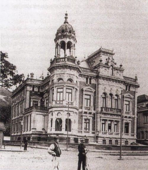 Palacio Olabarri, Bilbao. Original Arquitecto Zubizarreta