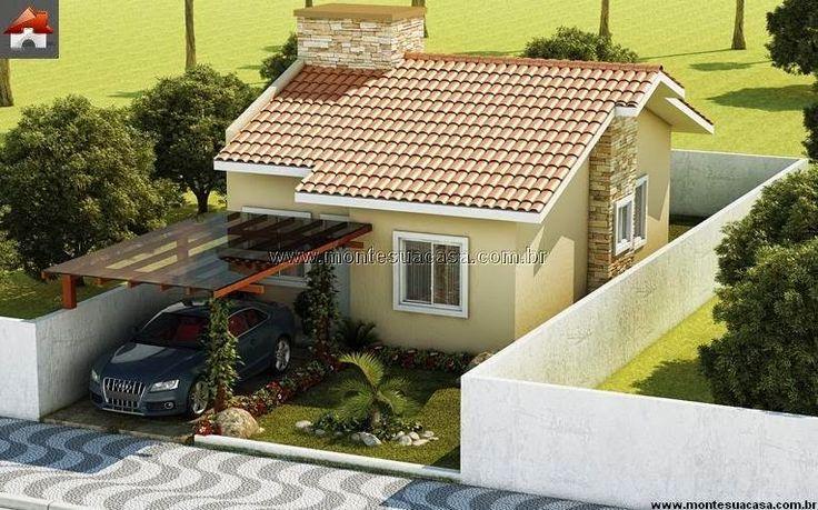 486 best images about nice homes on pinterest for Modelos de casa pequenas para construir