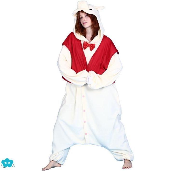 Disfraz pijama Cerdito Bcozy onesie para adulto