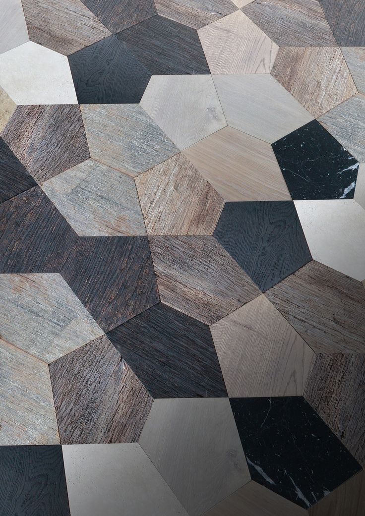 Parquet in legno PENTHA by Idee