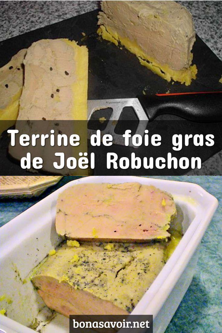 Recette Foie Gras Joel Robuchon : recette, robuchon, Hayalet