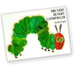 """Eric Carle reads """"The Very Hungry Caterpillar""""  on Barnes & Noble Storytime. Many other great books read by authors also available to watch."""