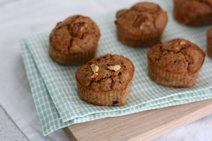 Hallo nieuwe rubriek! In de healthy baking categorie vind je zoete, verantwoorde bakrecepten zonder tarwe, suiker en zuivel.Daar kregen we de laatste tijd van