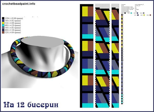 Схемы из он-лайн программы Croche..                                                                                                                                                                                 Mehr