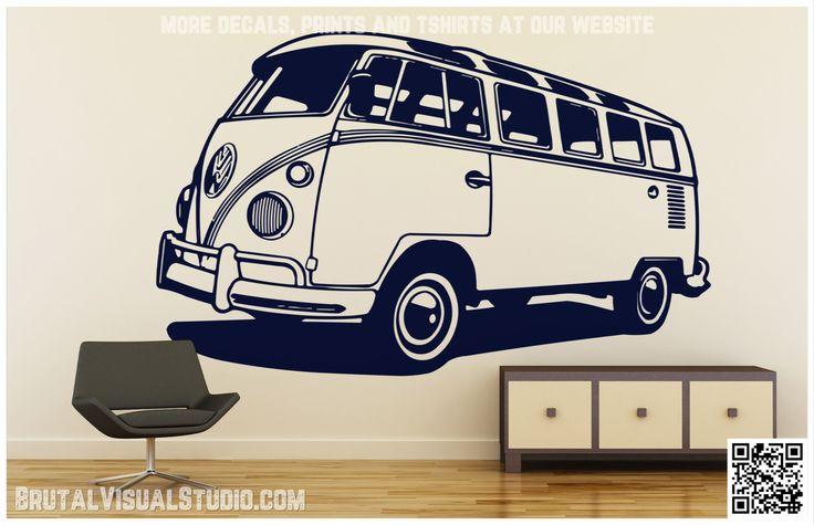 Best 25 volkswagen westfalia campers ideas on pinterest for Campervan wall mural