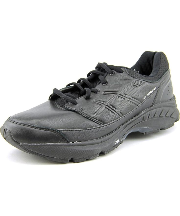 ASICS ASICS GEL-FOUNDATION WORKPLACE  4E ROUND TOE LEATHER  SNEAKERS'. #asics #shoes #sneakers